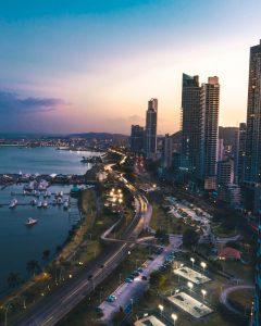 Sunset Panama City