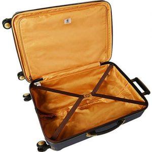 timberland hardside expandable spinner suitcase inside