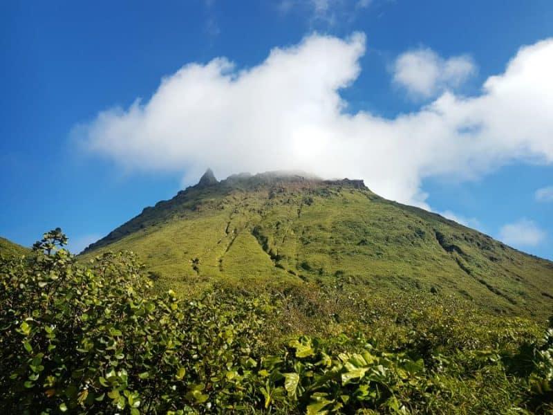 Volcano la Soufriere guadeloupe