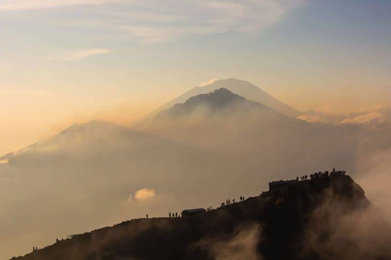 volcano mount Batur Abang