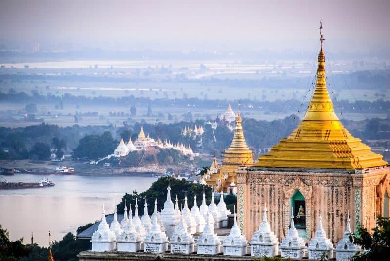 Mandalay Burma pagoda