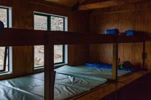 mueller hut bunk beds
