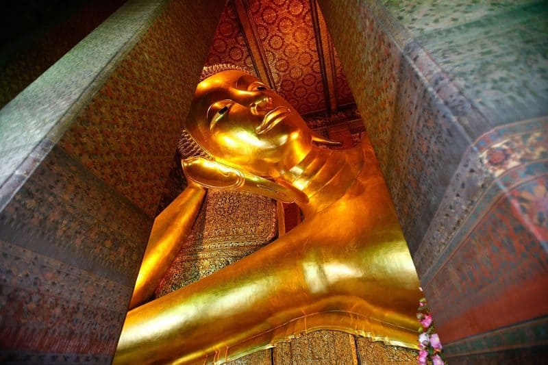 Reclining Buddha in Wat Po temple