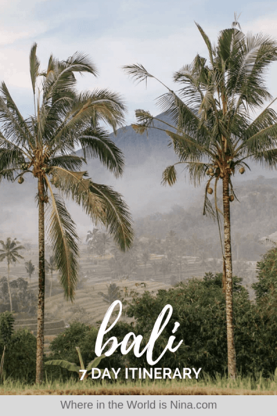 7-Day Bali Itinerary: Beaches, Adventures, and Culture