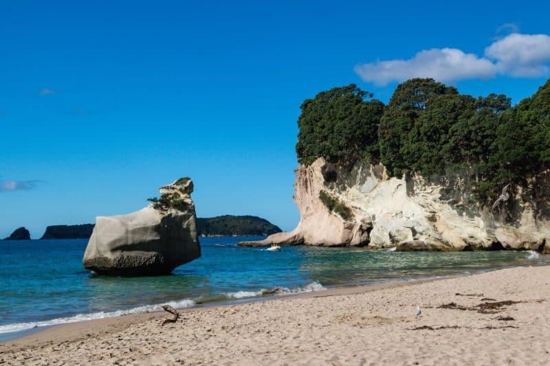 Catherdral cove beach
