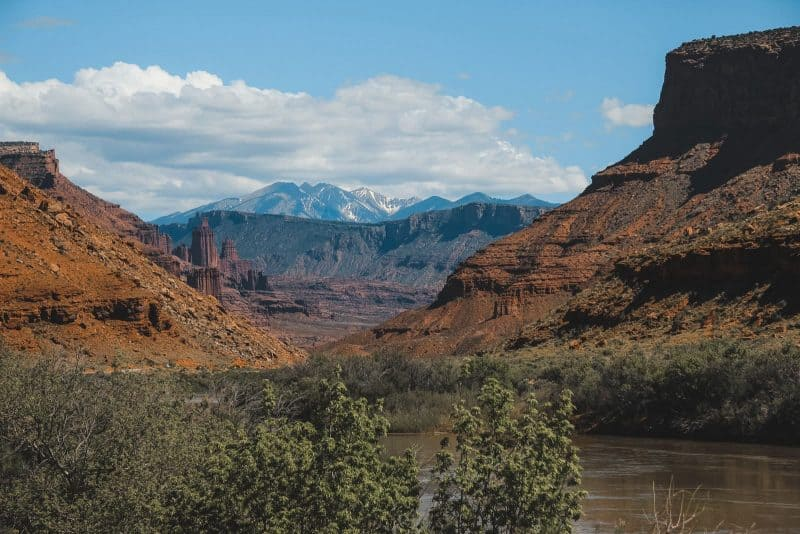 Lasal mountains Moab Utah