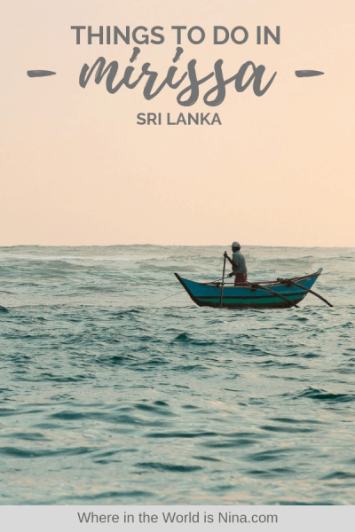 A Guide to The Best Things to Do in Mirissa, Sri Lanka
