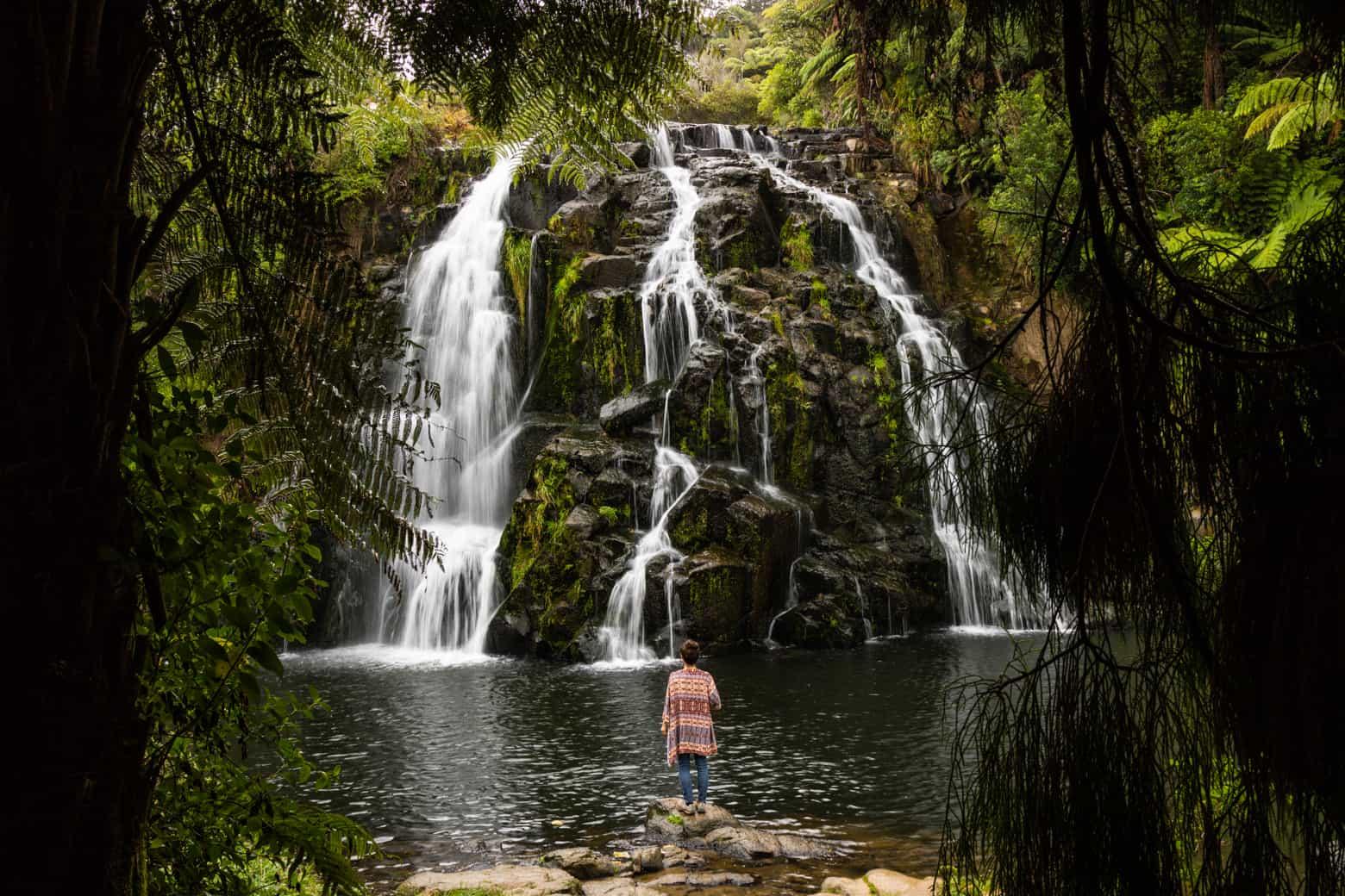 Ohwaroa falls
