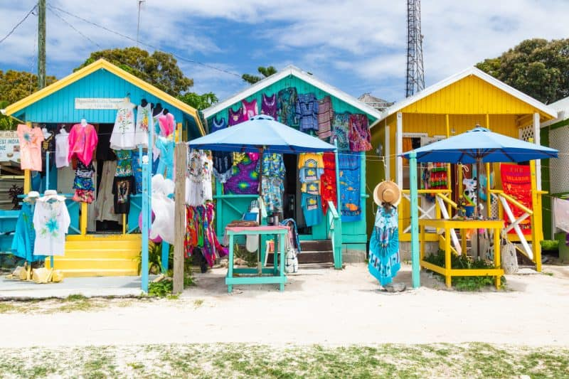 Pineapple beach shops Antigua