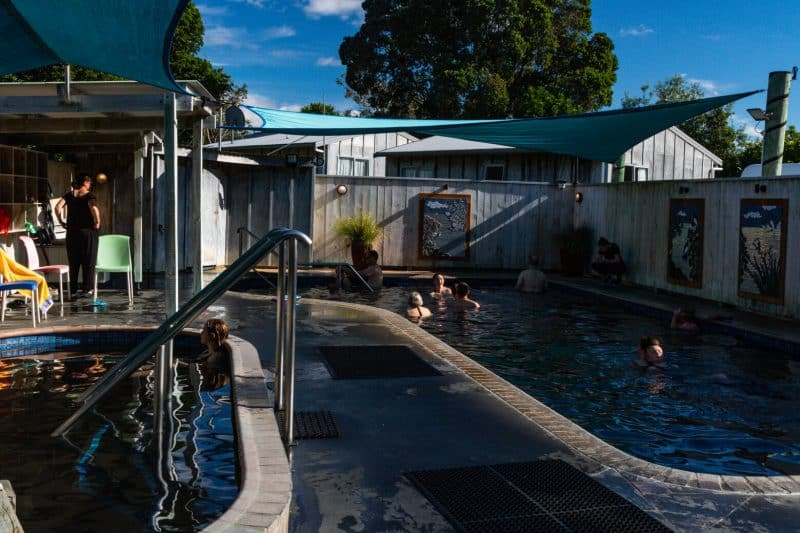 Rotorua Athenree pools