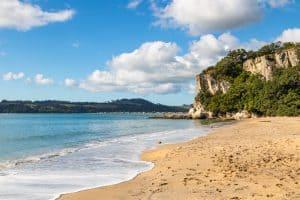 The Coromandel Cooks beach