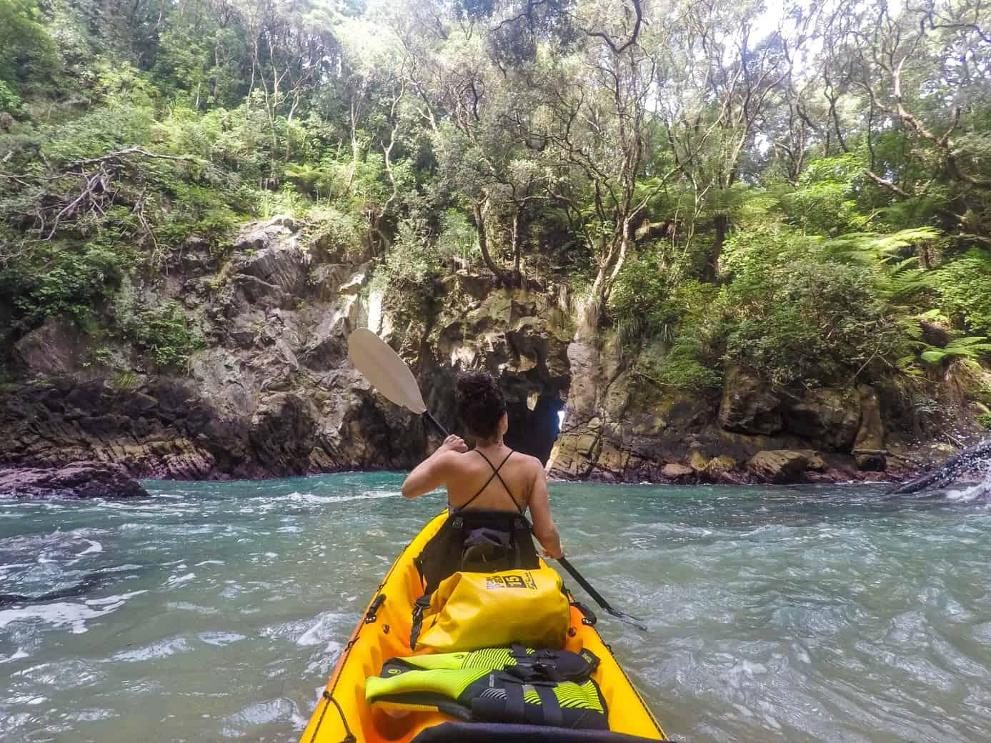 The Coromandel Kayak Donut Island