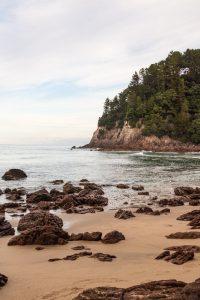 The Coromandel Onemata beach