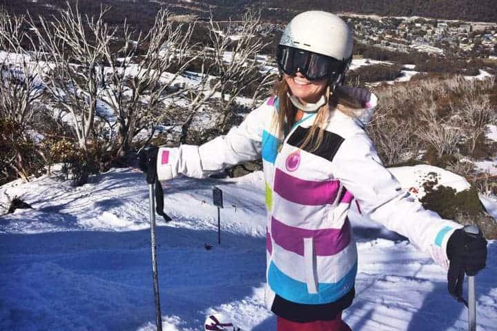 Skiing Thredbo Australia