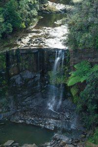 Waitakere ranges Mokoroa waterfall