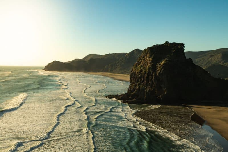 Waitakere ranges Piha Beach