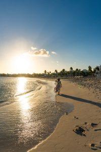 Belmond Anguilla beach sunset