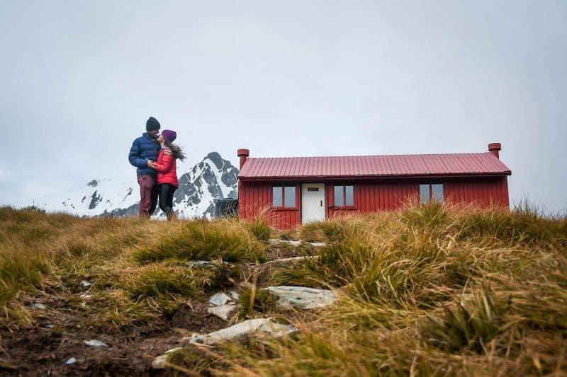 Brewster Hut New Zealand