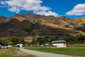 Glendhu Bay New Zealand campsite
