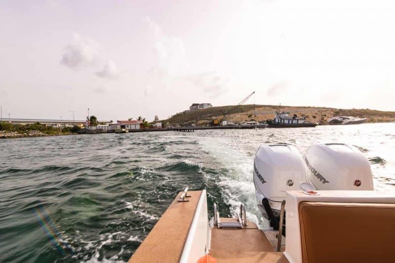 leaving Saint Martin Anguilla