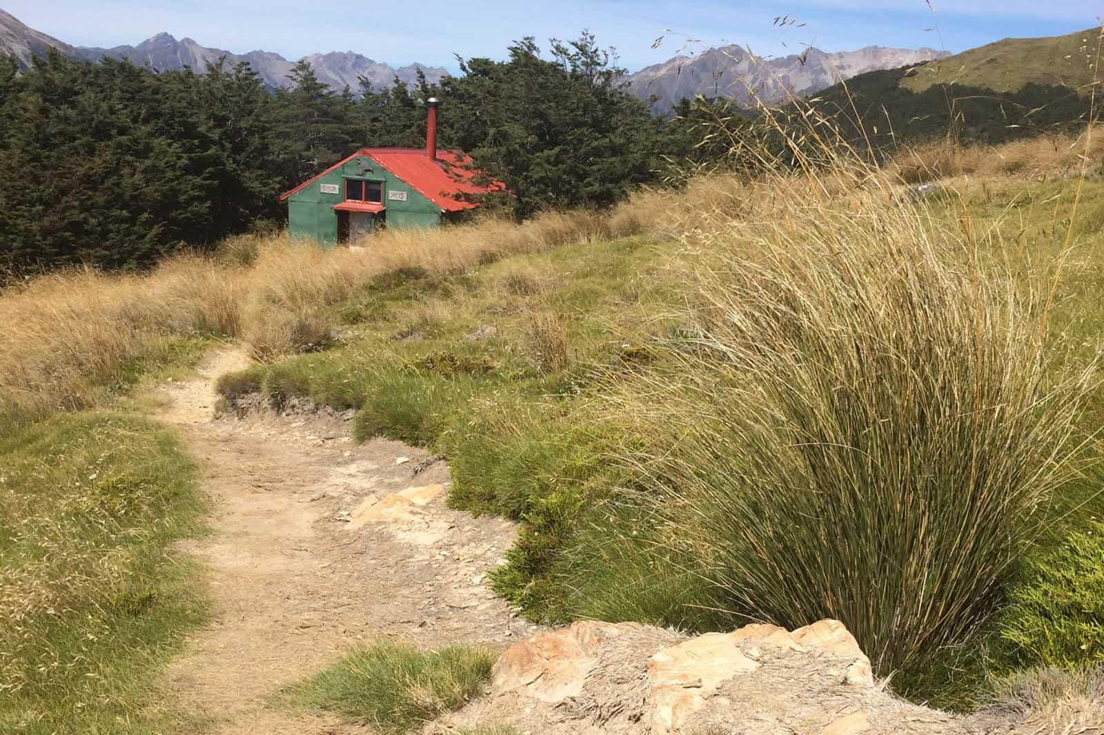 Mount Robert circuit Kea hut