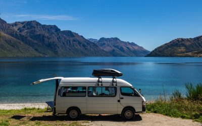 Campervan Sites in New Zealand + Camping and Food Tips