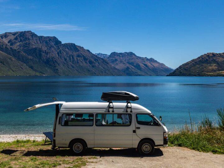 New Zealand campervan campsites