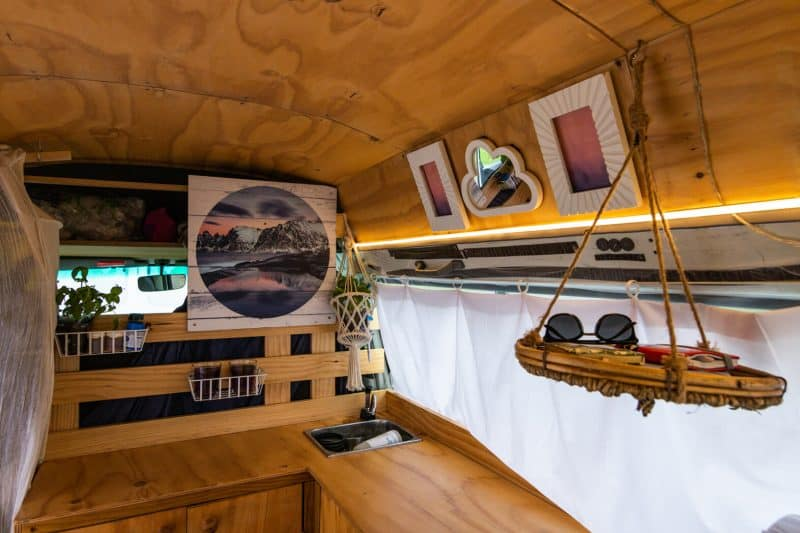 New Zealand Campervan kitchen