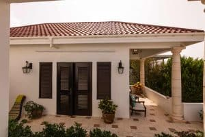 Villa Alegria Anguilla outside-room