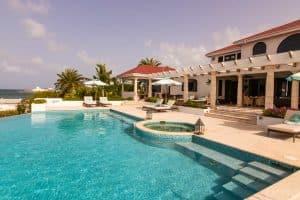 Villa Alegria Anguilla pool