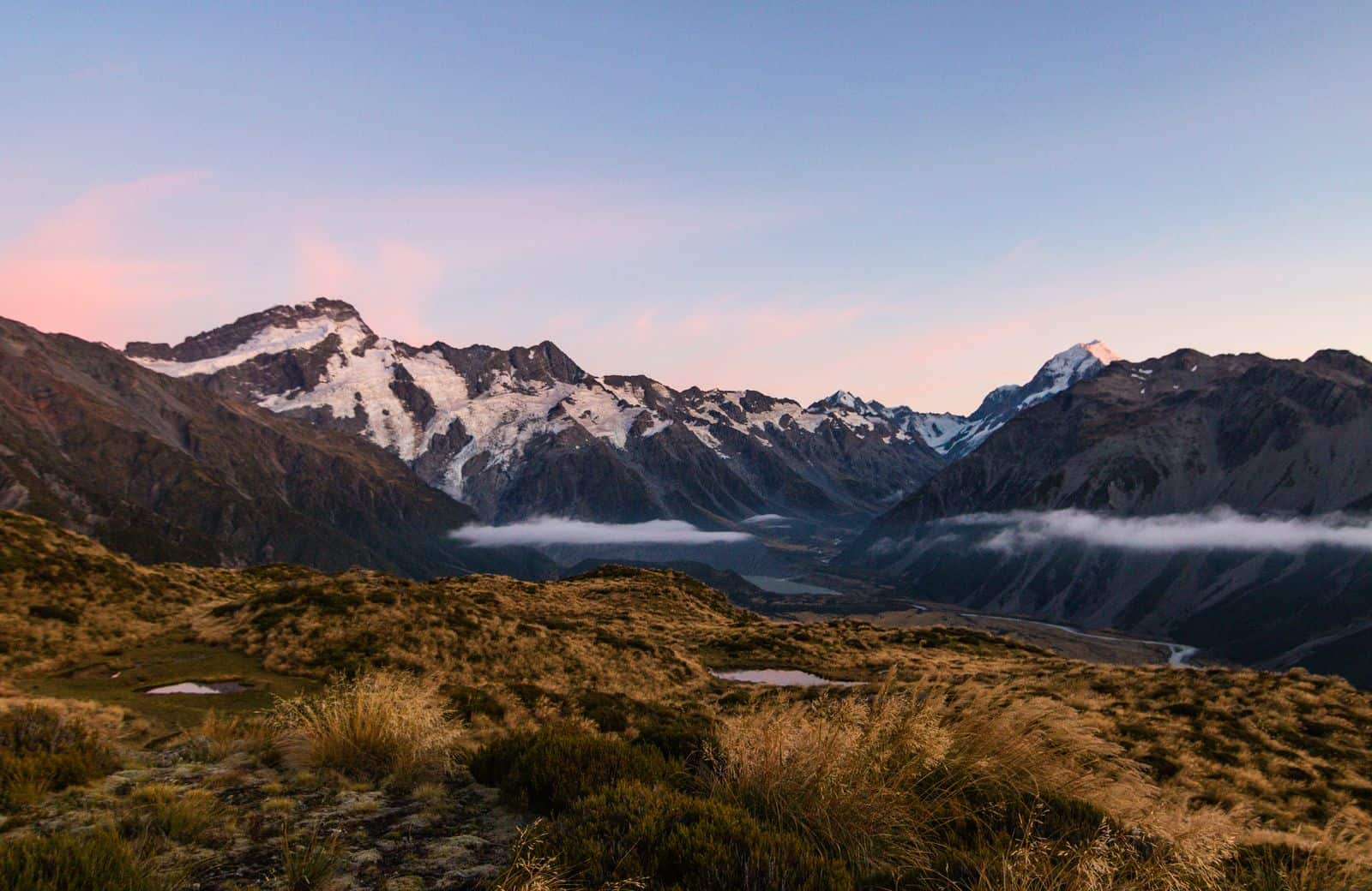 View from Mount Cook