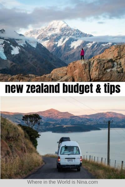 New Zealand Travel Tips + A Budget Breakdown