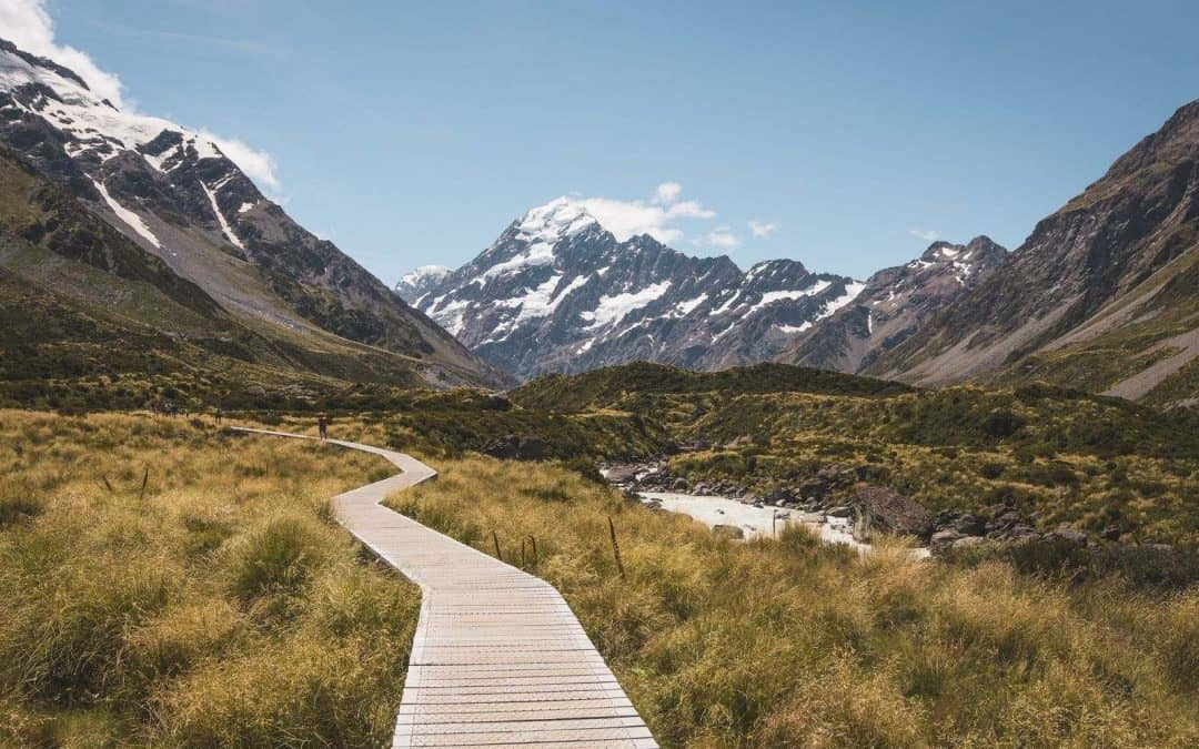 Once you master how to become a freelancer, you can work in pretty places like New Zealand.