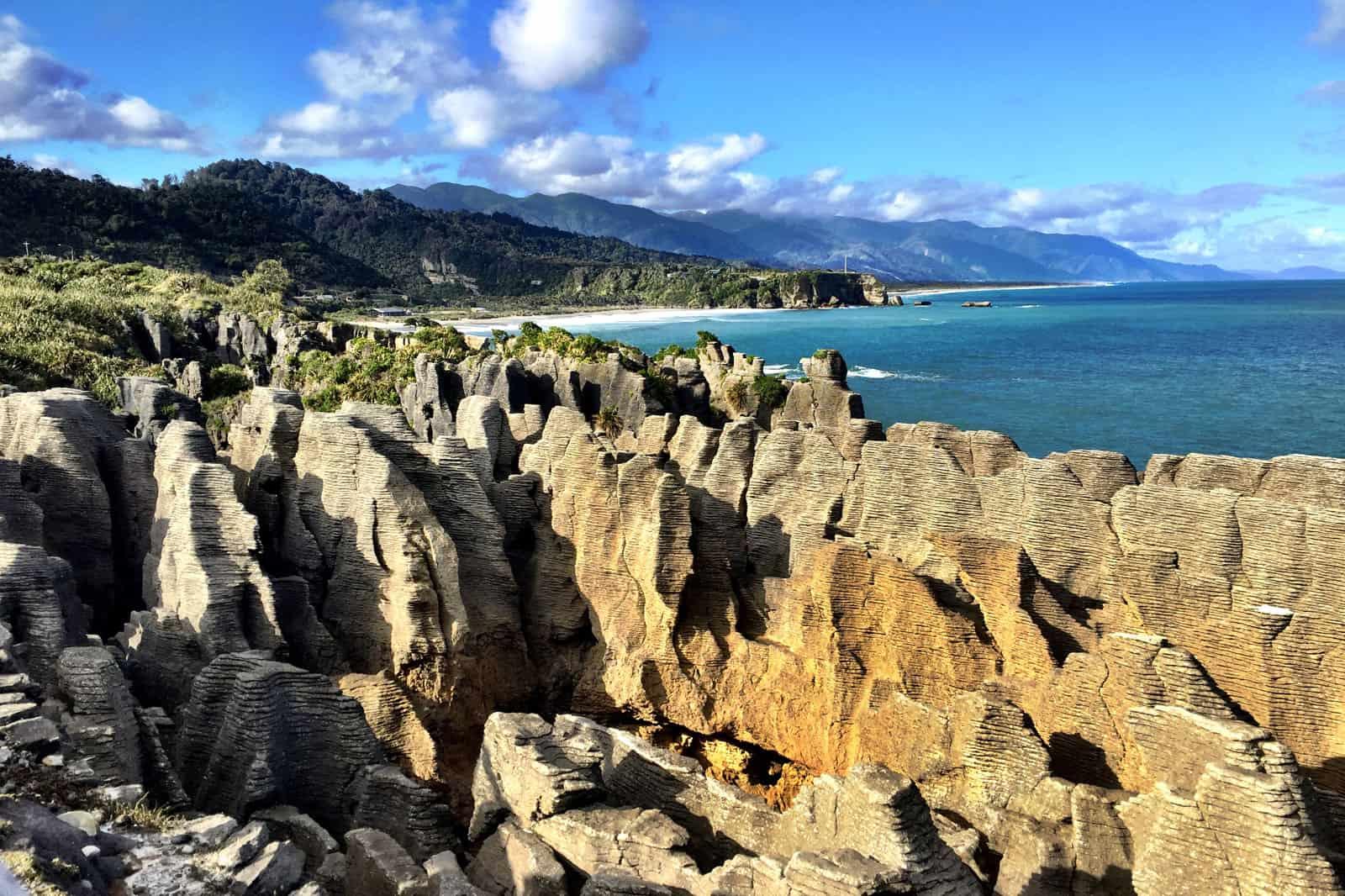 Pancake Rocks View