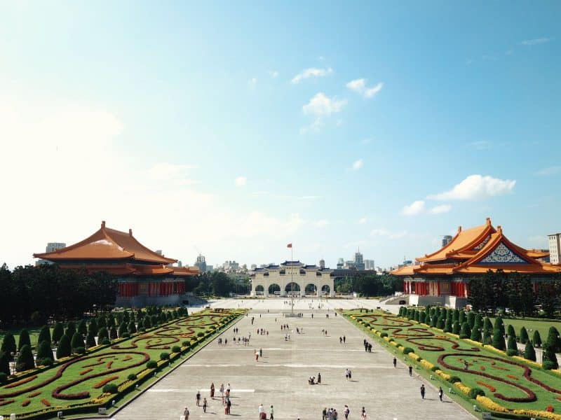 View of the National Chiang Kai-shek Memorial Hall