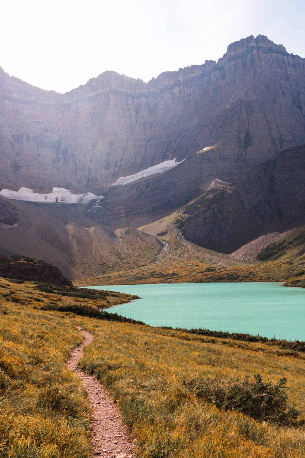 Cracker Lake was my favorite thing to do in Glacier National Park - This is the view!