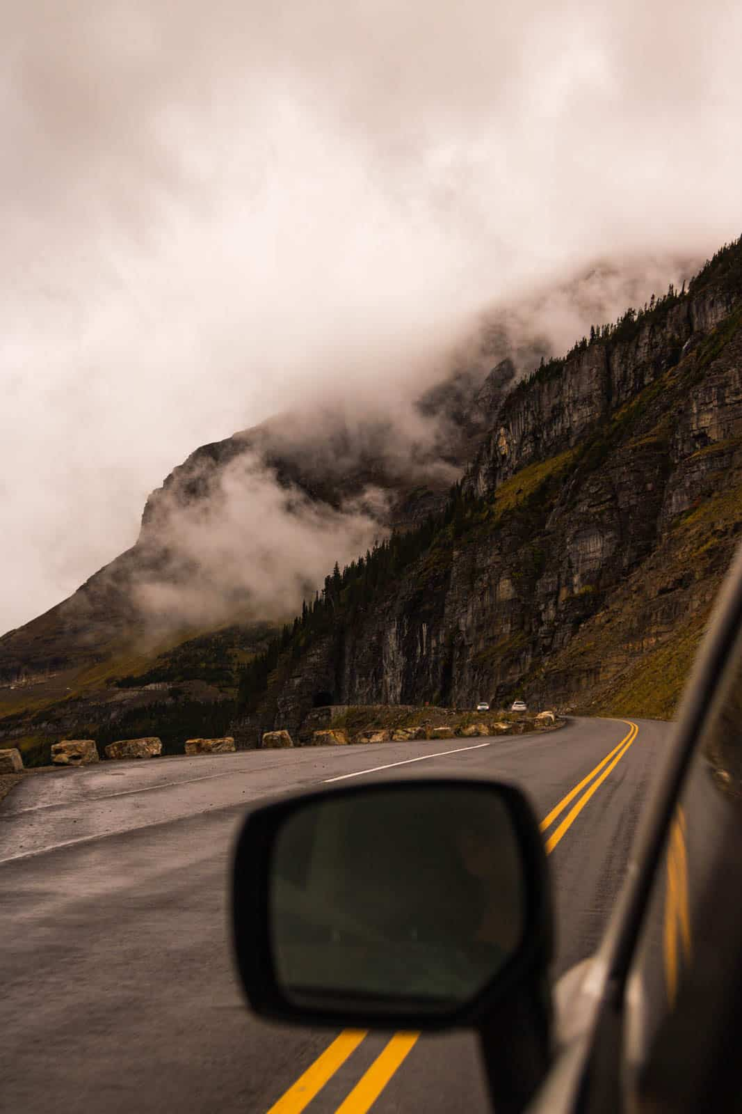 Road tripping the Going-to-the-Sun Road is one of the best things to do in Glacier National Park.