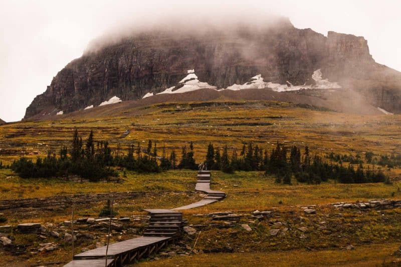 Hidden Lake Trail is one of the best hikes in Glacier National Park