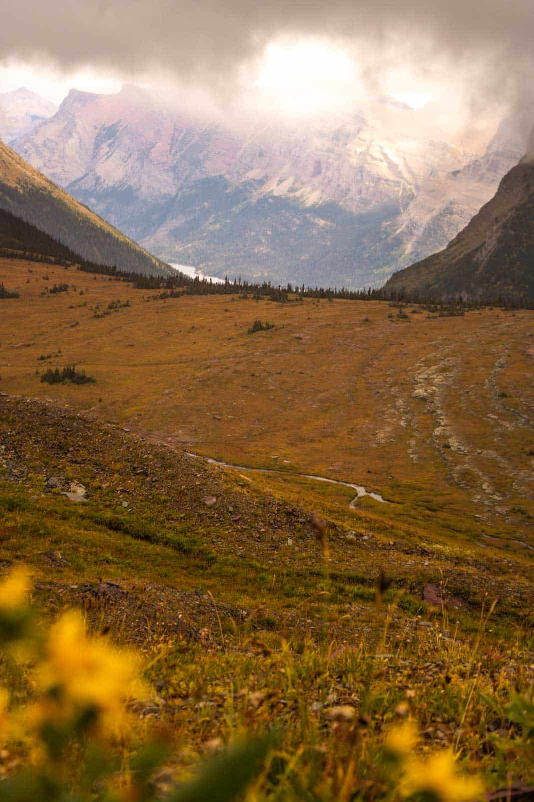 Glacier National Park is a highlight on a Montana road trip.