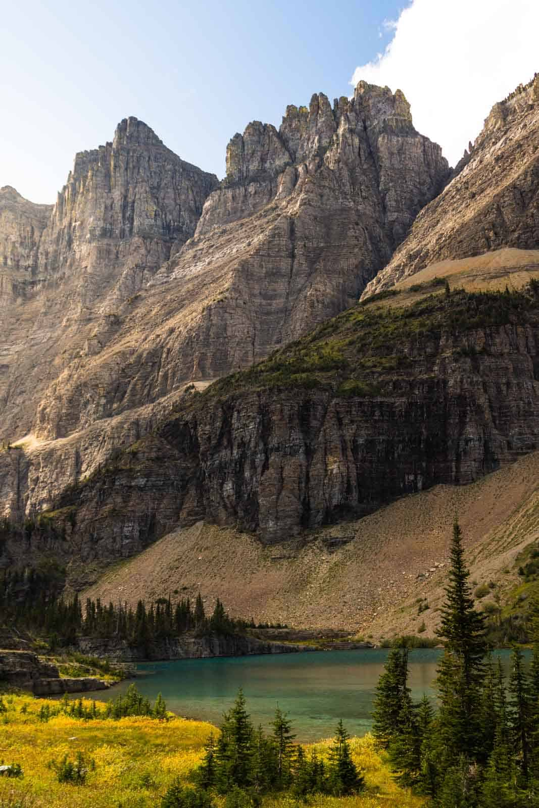 Iceberg Lake is among the best hikes in Glacier National Park
