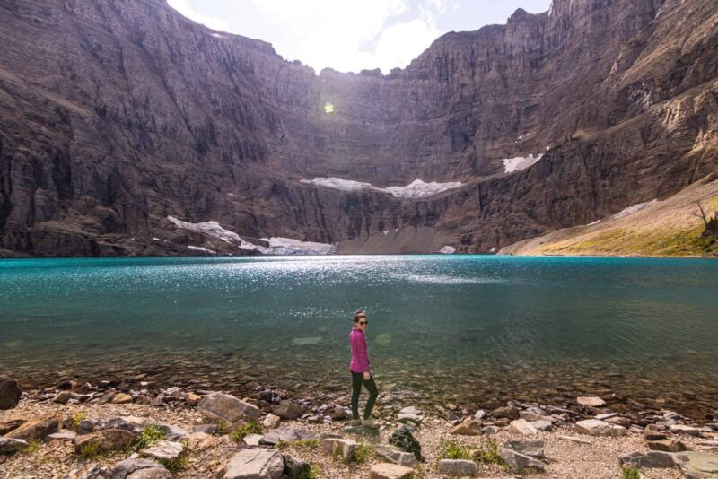 Iceberg Lake is one of the best things to do in Glacier National Park