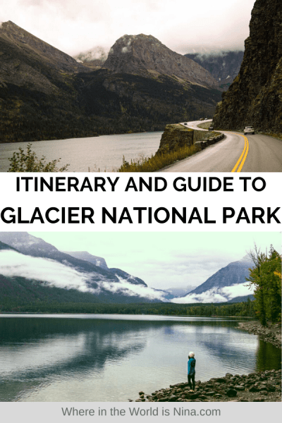 Itinerary and Guide to Glacier National Park