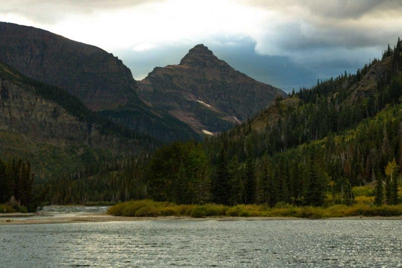 Visiting Two Medicine Lake is a great thing to do in Glacier National Park