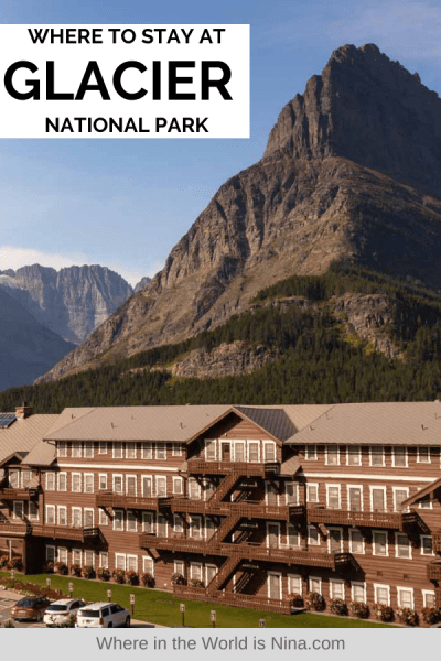 Where to Stay in Glacier National Park