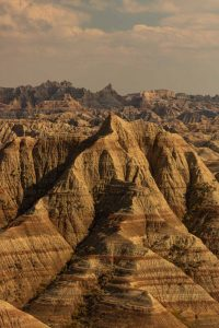 A view of Badlands National Park A view of Badlands National Park — an adventurous thing to do near Rapid City an adventurous thing to do near Rapid City