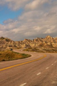 A view of Badlands National Park which is a fun thing to do near Rapid City