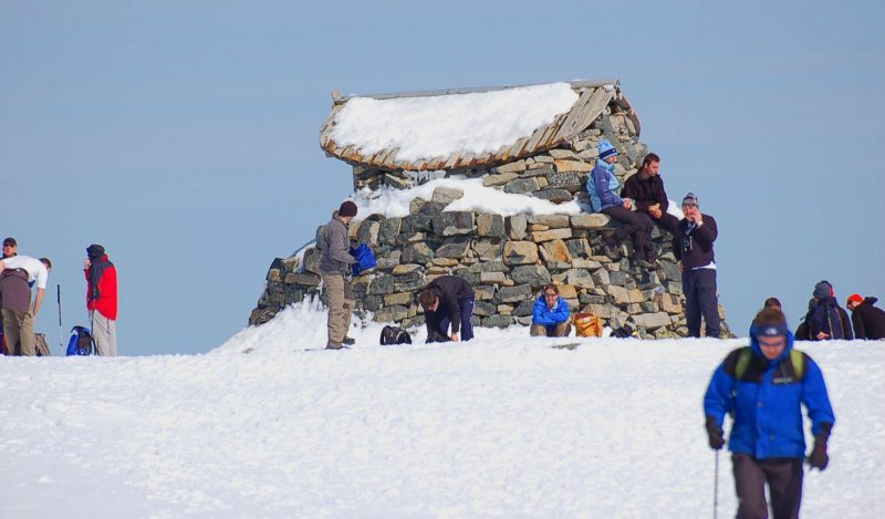 Ben Nevis during Scotland itinerary