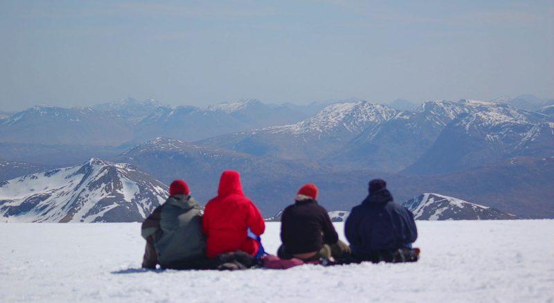 Summit on Ben Nevis during Ben Nevis during Scotland itinerary