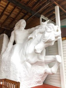 A view of Crazy Horse Memorial is another thing to do around Rapid City