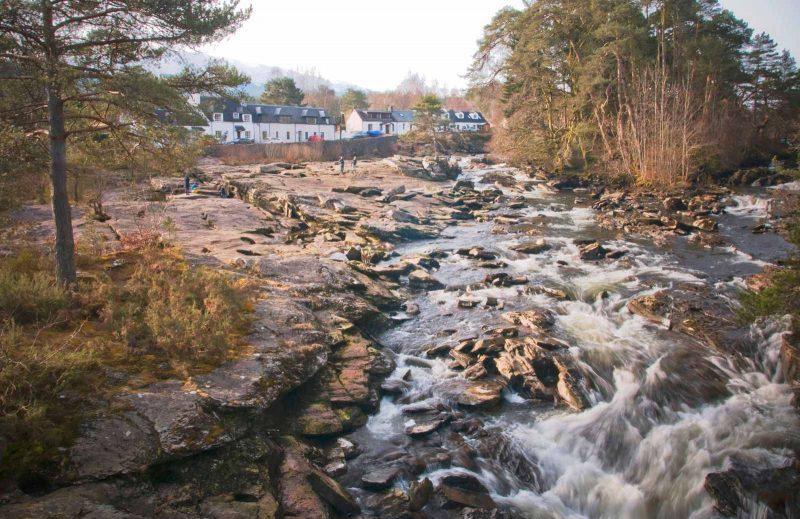 Falls of Dochart, Scotland road trip